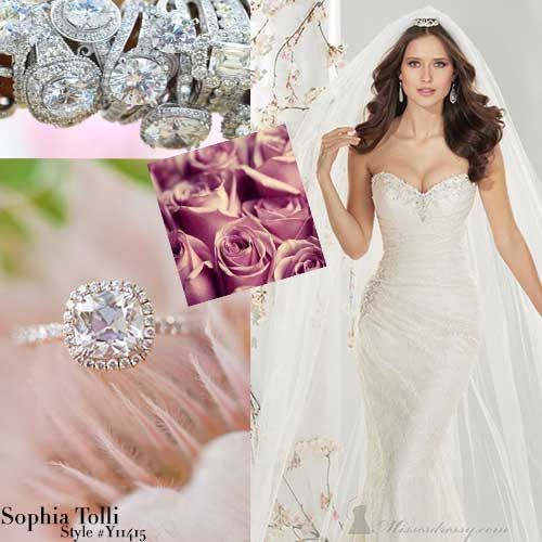 21 best images about sophia tollie bridal collection on for Wedding dresses in long island