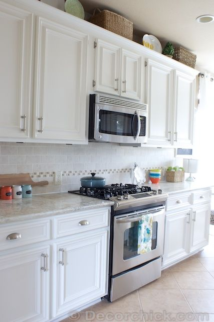 White Kitchen Cabinet Knobs