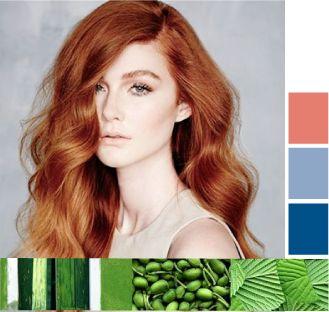 Золотисто-медно-рыжий цвет волос. Деревенский медно-рыжий