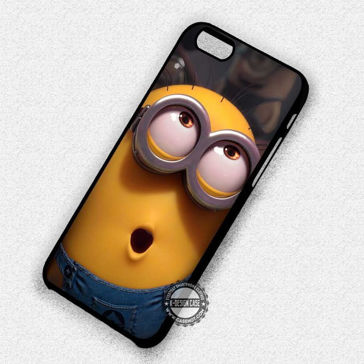 Eyes Funny Minions Despicable Me - iPhone 7 Plus 7 6S SE Cases & Covers