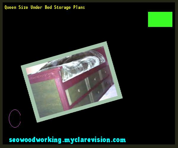 Queen Size Under Bed Storage Plans 074452 - Woodworking Plans and Projects!