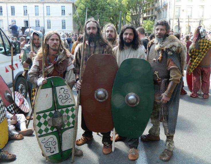 Les celtes   Grands jeux Romains Nîmes 2013...les celtes