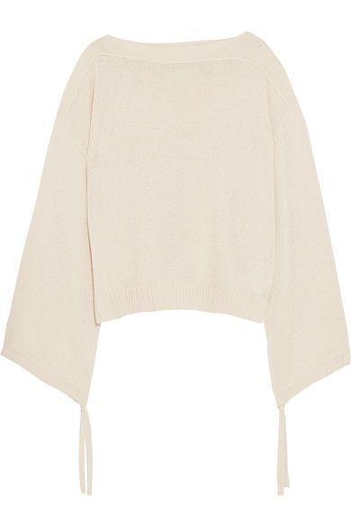 Jil Sander - Cotton, Cashmere And Silk-blend Sweater - Cream - medium