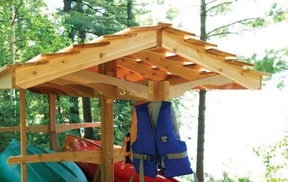 free canoe rack wood plans