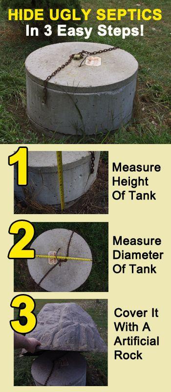 garden ideas to hide septic tank - Garden Ideas To Hide Septic Tank