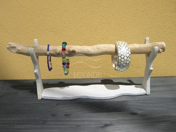 Bracelet display standdriftwood jewelry organizerwatches by H2ONDE