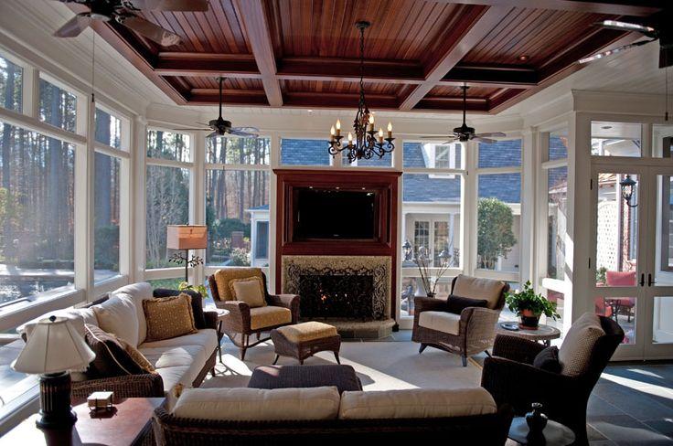 great room or 4-season porch - Renovation – Cary, NC | WDG