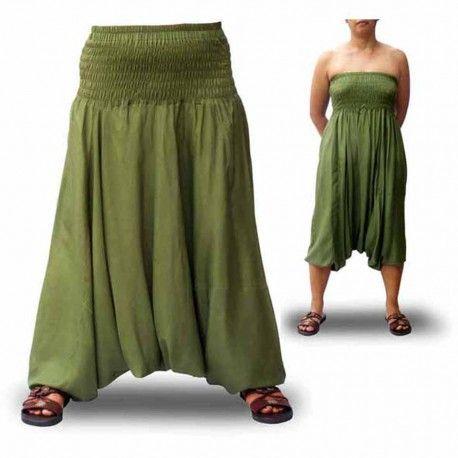 Pantalones Afganos Lisos o cagados de rayón 100% Resistentes y transpirables ahora 17,00€