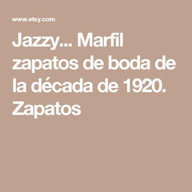 Jazzy... Marfil zapatos de boda de la década de 1920. Zapatos