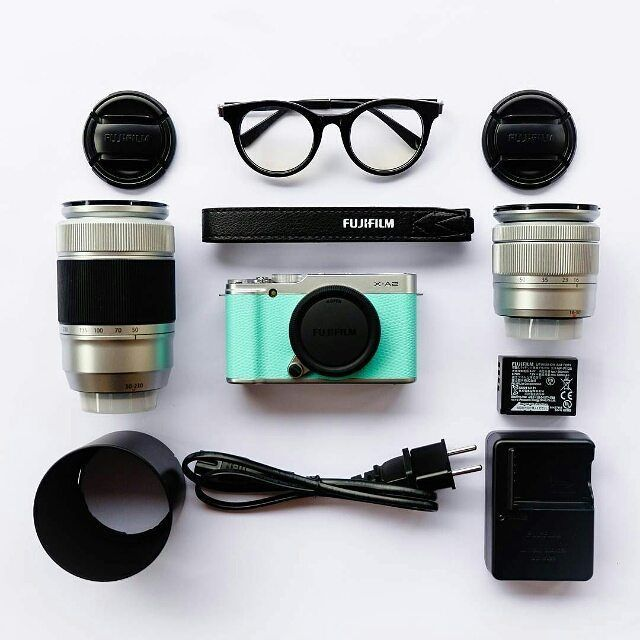Weekend Essentials!  #Fujifilm #XA2 #XSeries #5yearsofxseries #Weekend by fujifilmme