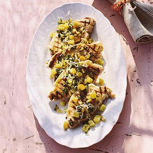Recept - Varkensfilet met croutons - Allerhande
