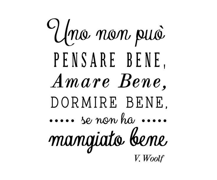 Adesivo in vinile Virginia Woolf - 60x50 cm