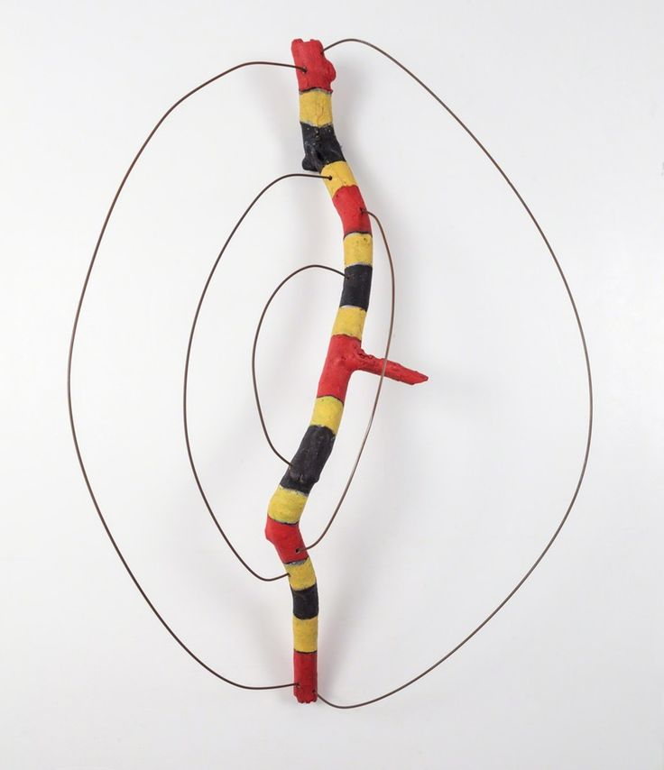 Elisa Lendvay, 'Red next to Yellow (Coral Snake)', 2013