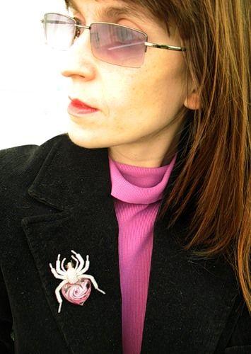 Черная вдова. Пока еще невеста))) | biser.info - всё о бисере и бисерном творчестве