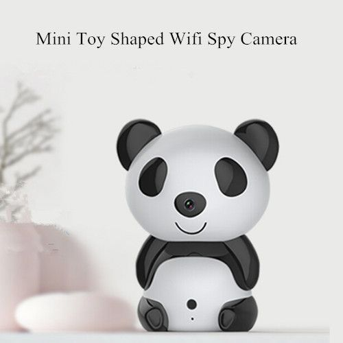 P2P H.264 720P 70 Degree Angle Toy Shaped Night Vision Wifi Hidden Spy Camera Compatible with Mobile Phone