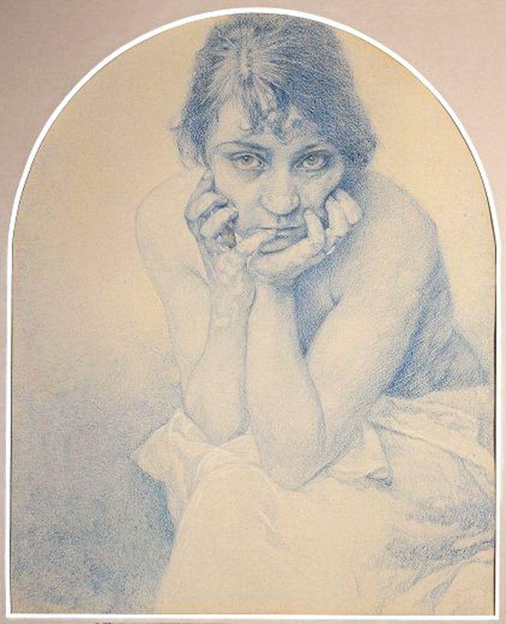Alphonse Mucha- artwork inspires me