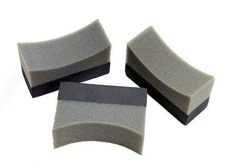 Cheapest 3 x Professional Tyre Dressing Applicator Foam Sponge Pad For Sale Online