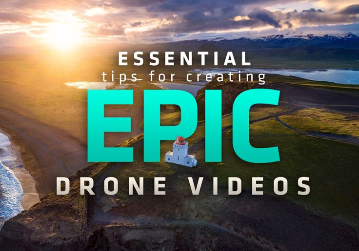 Tips for capturing high quality, cinematic drone videos. Production and Post-Production topics include ISO, d-log, lenses, editing, sfx, color correction, color grading and more! #drone #drones #video #editing #aerial