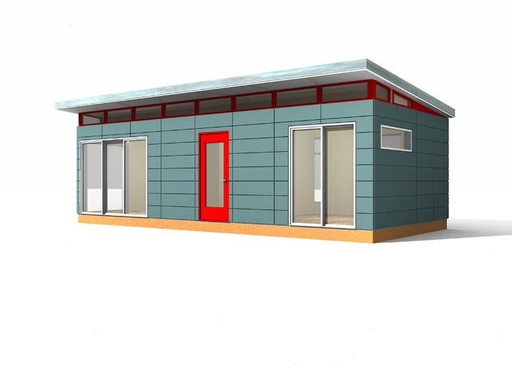 Man Cave Sheds Garages Nsw : Modern shed kit  prefab building man cave