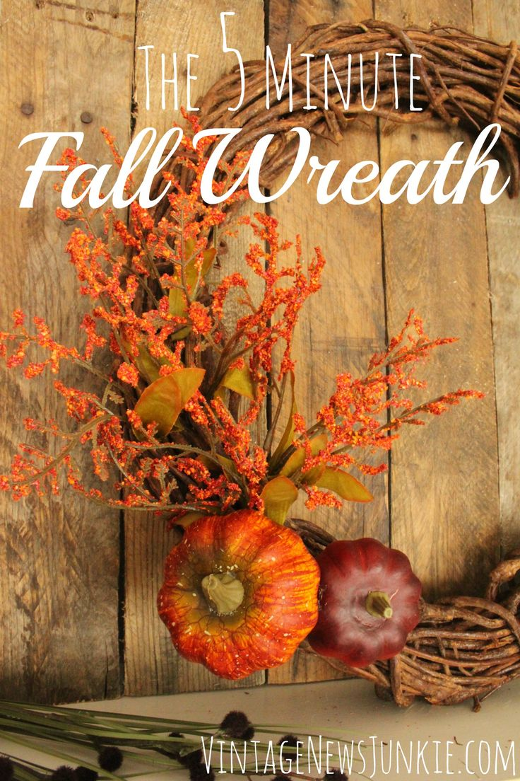 Simple Fall Wreath: 248 Best Images About Fall Wreath Ideas On Pinterest