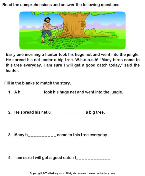 Worksheet Reading Comprehension For Grade 1 With Questions 28 best summer school images on pinterest grade 1 worksheet yahoo image search results