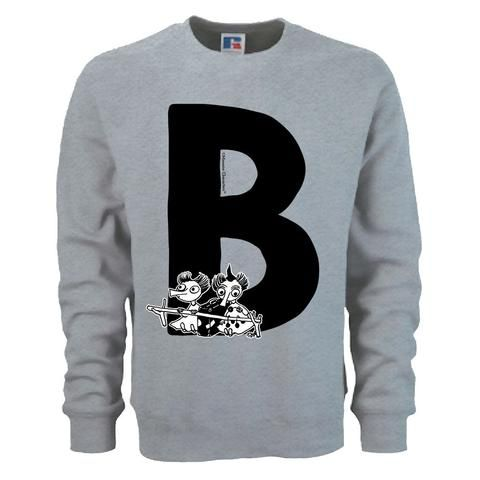 Moomin Alphabet sweatshirt  - B as in Bob & Thingumy