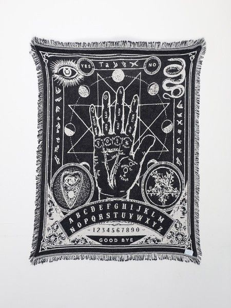 Palmistry Blanket - Gypsy Warrior                                                                                                                                                                                 More