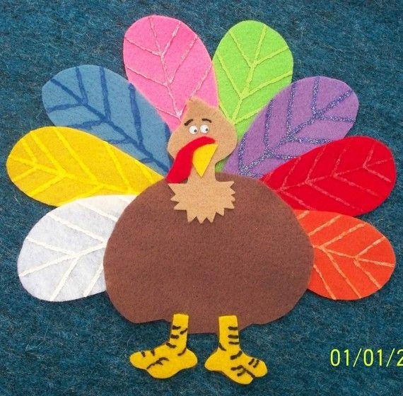 Tommy the Turkey Children's Flannel Board Felt by FunFeltStories, $7.00: Felt Sets, Turkey Children, Felt Projects, Children Crafts, Children Flannels, Turkey Flannels, Boards Felt, Felt Boards, Felt Ideas