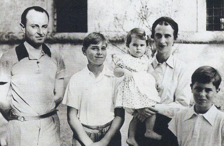 Prince Paul of Yugoslavia and his family