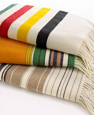 Nice threads. Completely luxurious, these 5th Avenue throws from Pendleton…