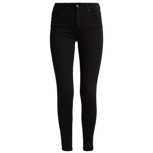 Jeans Skinny Fit black (1,350 PHP) ❤ liked on Polyvore featuring pants, skinny jeans, super skinny jeans, skinny fit jeans and skinny leg jeans