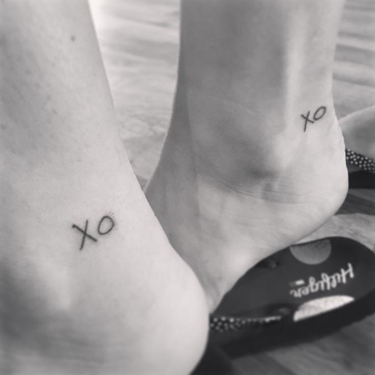 "Cousin tattoo, Grandma's ""Xo""/ all the feels ❤️"