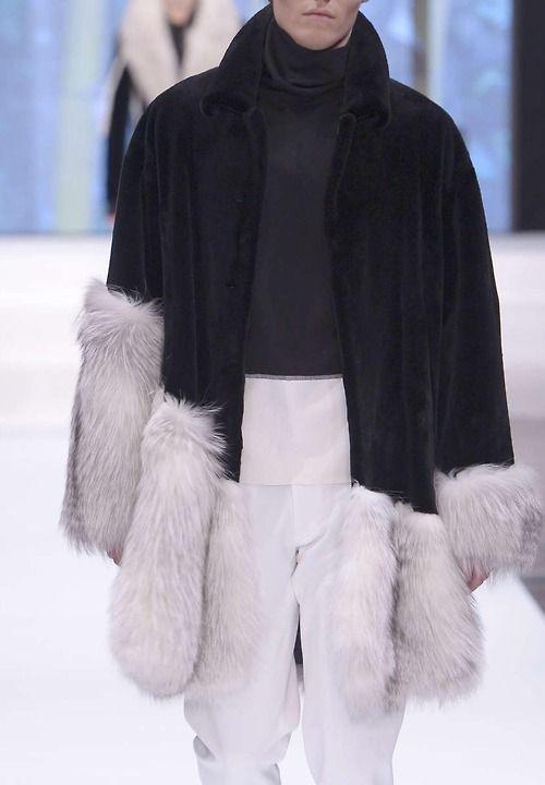 Kopenhagen Fur F/W 2014...amazingly creative and seductive fur for men