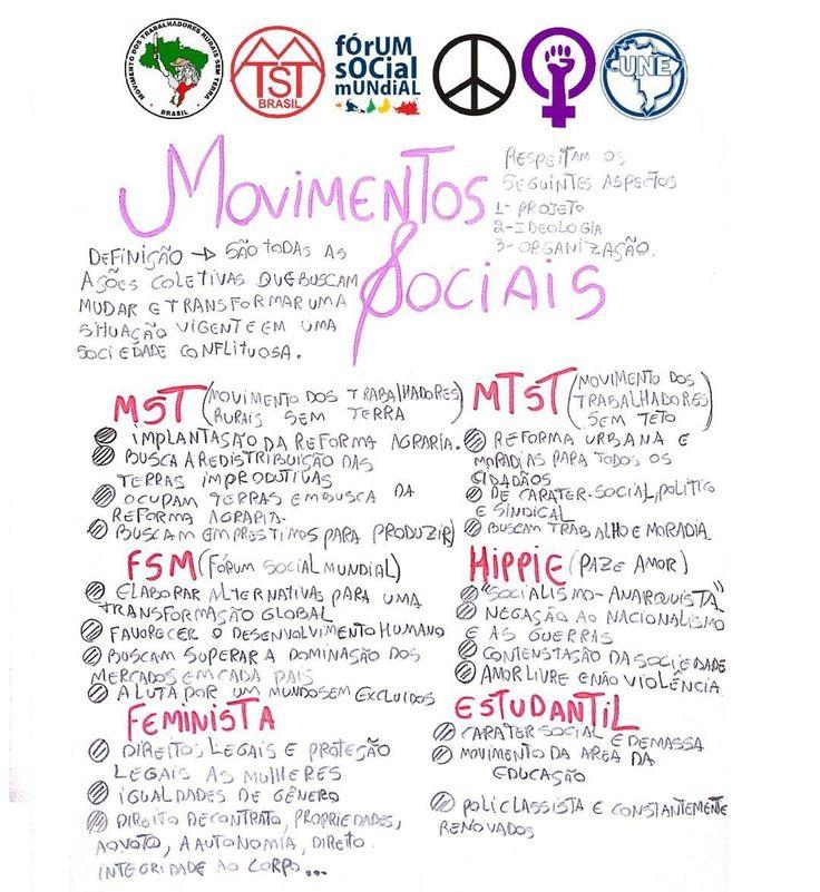 GEO - Movimentos Sociais