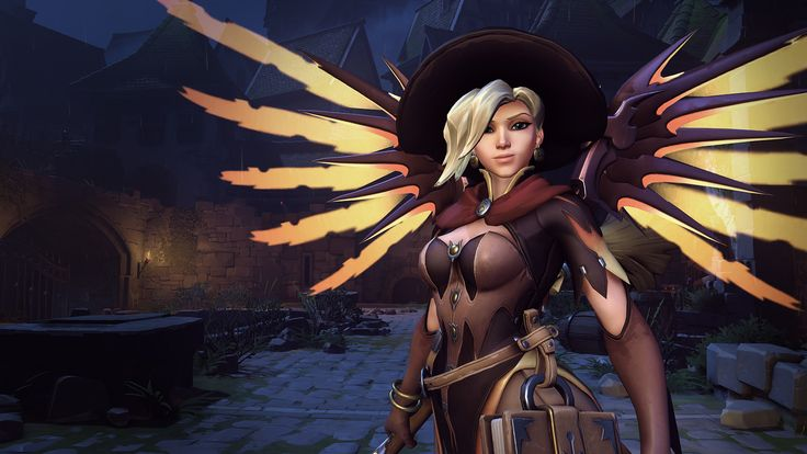 Here are some screenshots of my contribution to our latest event : Overwatch - Halloween Terror!  -=Full Credits=-   Witch Mercy :  This skin was definitely a team effort! Donald Phan​ did 90% of the highpoly before I took over to finish it and did the in-game model and textures.  Additional credits : Concept : John Polidora​ Original head : Hai Phan​ Weapon : Niles Doubleday​ Rigging : Dylan Jones​ Animation and poses by David Gibson​ and the rest of our talented animation team   Jack…