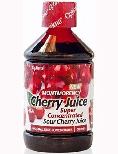 Optima Montmorency Cherry Juice Super Concentrate 500ml #Optima #Montmorency #Cherry #Juice #Super #Concentrate