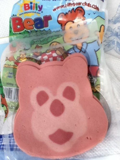 Billy Bear ham | 41 Things That Taste Like Every British Person's Childhood