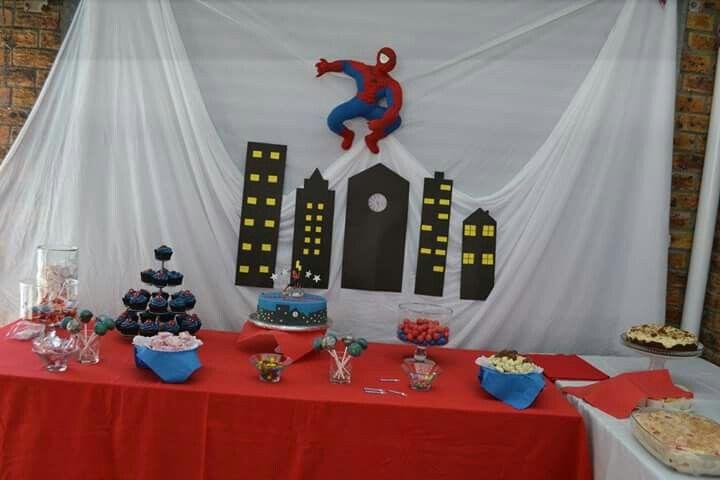 Blake's Spider-Man 4th birthday