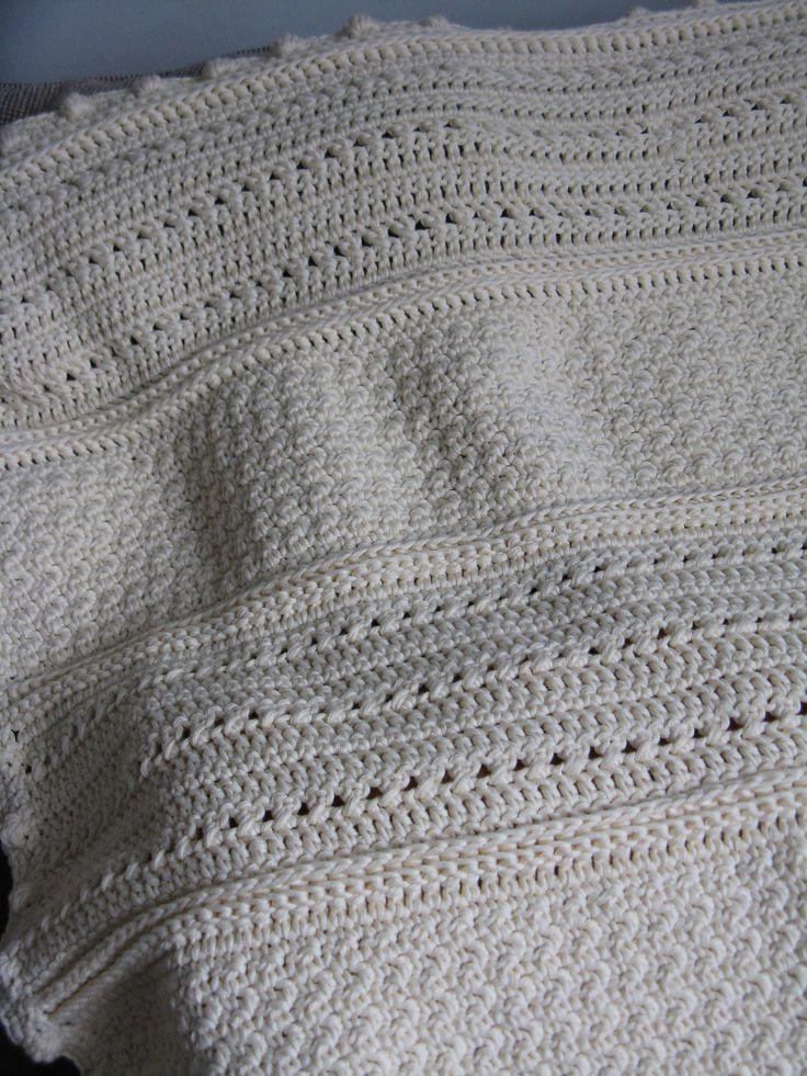 May Day Baby Blanket By Cindy Van Den Toorn - Free Crochet Pattern - (ravelry)  ༺✿ƬⱤღ✿༻