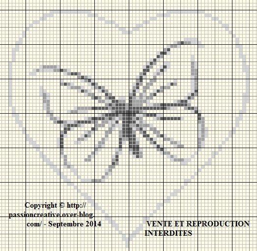 Les 25 meilleures id es de la cat gorie motif de point de croix papillon sur pinterest mod les - Veronique enginger grille gratuite ...