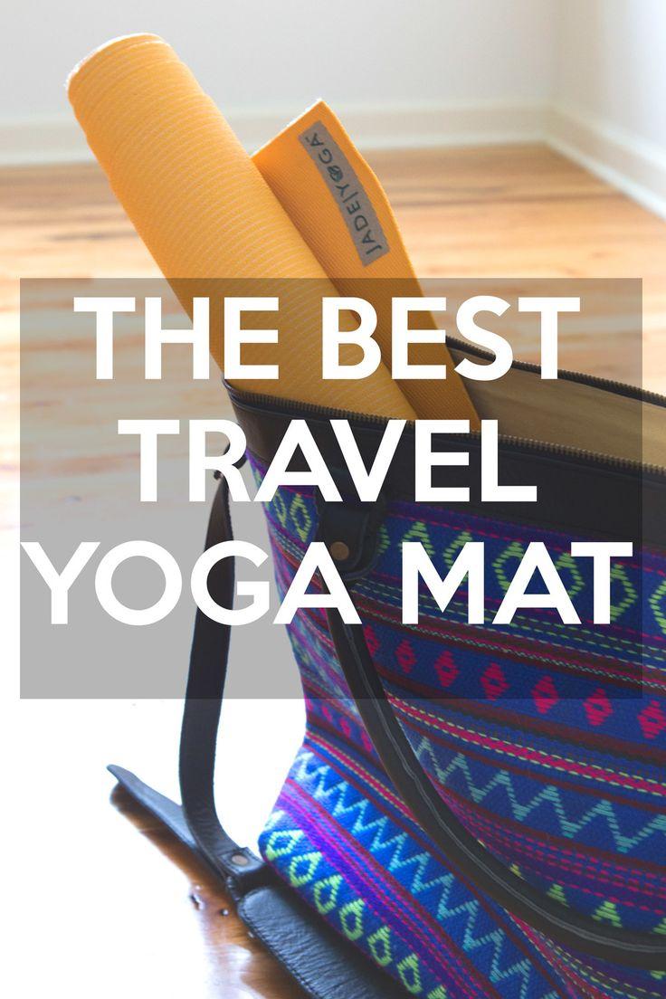 Best travel yoga mat - pin it