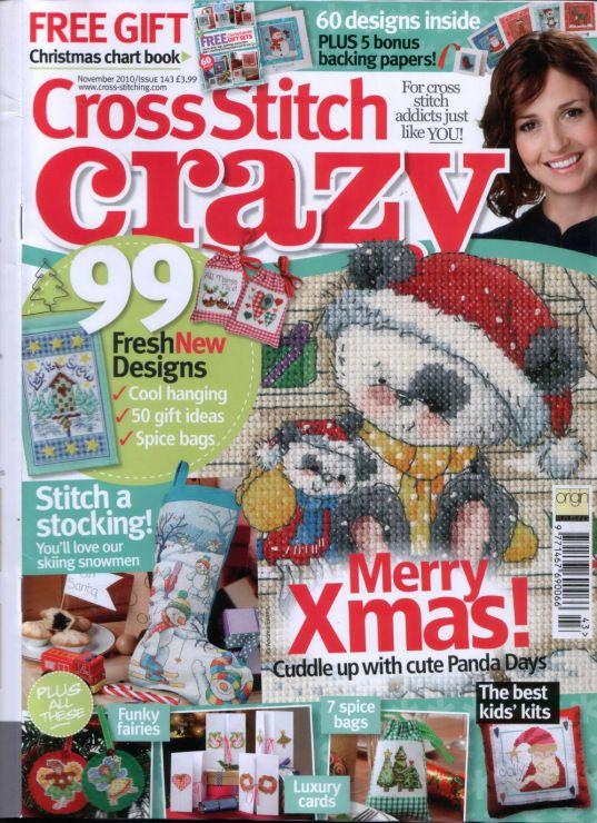 Cross Stitch Crazy 143     cliccare per vedere tutto