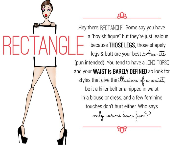 Rectangle Body Shape - Shop Your Shape   Shopgirls   ShopShopgirls