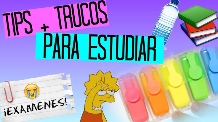 TRUCOS Y TIPS PARA ESTUDIAR ♥ Valeria Jeri