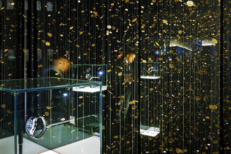 "DGT for Citizen -""Frozen Time"" installation in Baselworld, 2014"