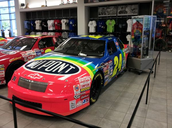 Stop by our museum and come see Jeff Gordon's No. 24 DuPont Chevrolet from his first NASCAR Cup win at Charlotte Motor Speedway on May 29, 1994.
