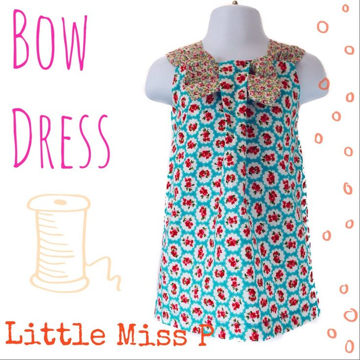 Wonderfully handmade little girls dress with a pretty bow on the front neckline, available in a selection of fabrics. The bow (and shoulder straps if desired) are in coordinating fabric which will really stand out from the crowd.  Fabric composition: 100% Cotton  Please note: only the bow will be made in the coordinating fabric. If you require the shoulder straps to be in the same coordinating fabric, please leave a comment in the Note section of the checkout.  Delivery time: 7-10 Working…