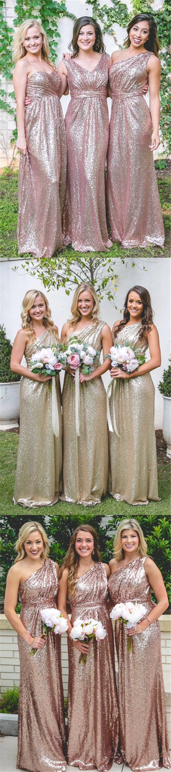 The 25 best sparkly bridesmaid dress ideas on pinterest gold custom cheap sparkly sequin mismatched bridesmaid dresses most popular dress for wedding guest pd0457 ombrellifo Image collections