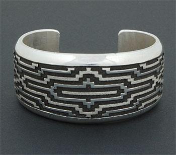 Navajo cuff silver