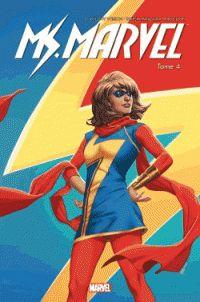 G. Willow Wilson et Takeshi Miyazawa - Miss Marvel Tome 4 : Super célèbre. http://cataloguescd.univ-poitiers.fr/masc/Integration/EXPLOITATION/statique/recherchesimple.asp?id=195963784